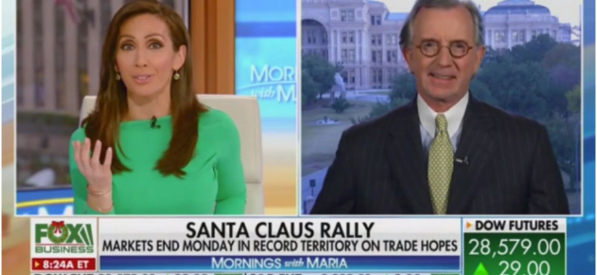 Ted Oakley - DEcember 24, 2019 - Fox Business