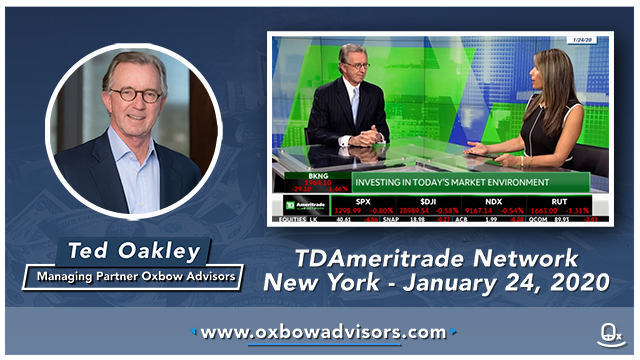 Ted Oakley - TDAmeritrade Network -01242020 MT